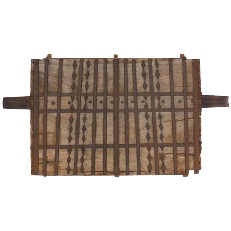 Wood and Iron Architectural Element