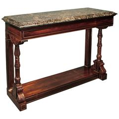 19th Century Regency Rosewood Console Table