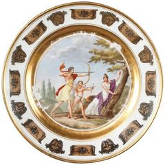 Empire Plate by Stone, Coquerel and Legros in Paris