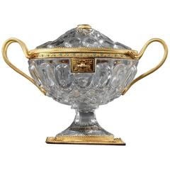Charles X Crystal Cup with Gilded Brass Mounts