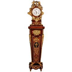 20th Century Louis XVI Style Museum Pedestal Clock after Jean-Henri Riesener