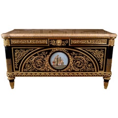 20th Century Louis XV Style Commode Joseph Stockel