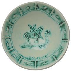 Pablo Picasso Madoura Ceramic Bowl Picador, 1954