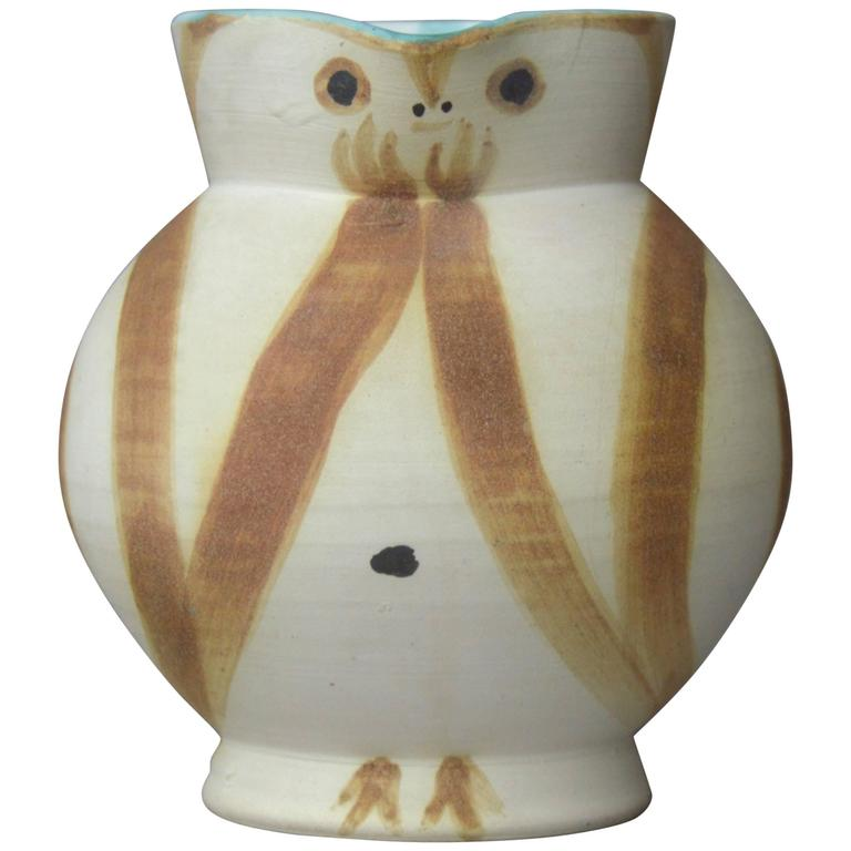 Pablo Picasso Madoura Ceramic Pitcher Little Wood-Owl, 1949
