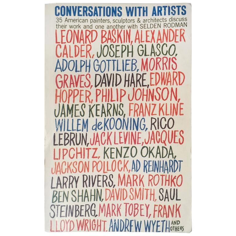Conversations with Artists - Selden Rodman 1961