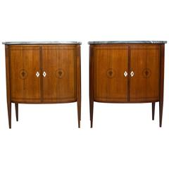 Pair of French Art Deco Style Cabinets
