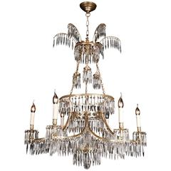 20th Century Classicist Style Swedish Ceiling Candelabra