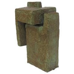 """""""Wall"""" Bronze by Mike Kirby"""