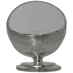 Antique Sterling Silver George III Sugar Basket, London 1795, William Frisbee
