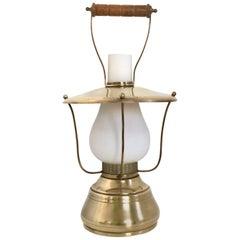 Italian Lantern Table Lamp, 1950s