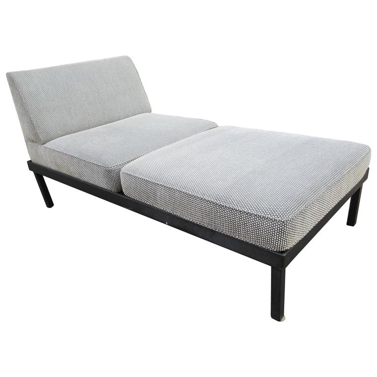 Van Keppel-Green Chaise Lougue Platform Bench with Removable Cushions 1