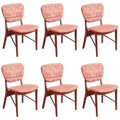 Set of Six Teak Dining Chairs by Finn Juhl