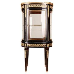 20th Century Louis XVI Classicist Style French Salon Vitrine