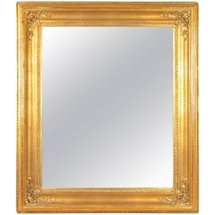 Golden Biedermeier Wall Mirror, Austria, circa 1860