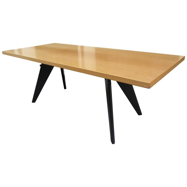Prouve for Vitra Dining Room EM Table 1