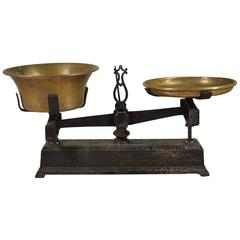 19th Century French Scale