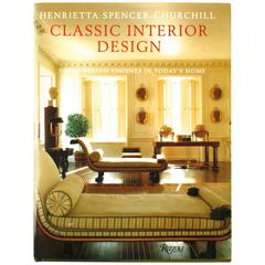 """""""Classical Interior Design, Using Period Finishes in Today's Home"""" Book"""