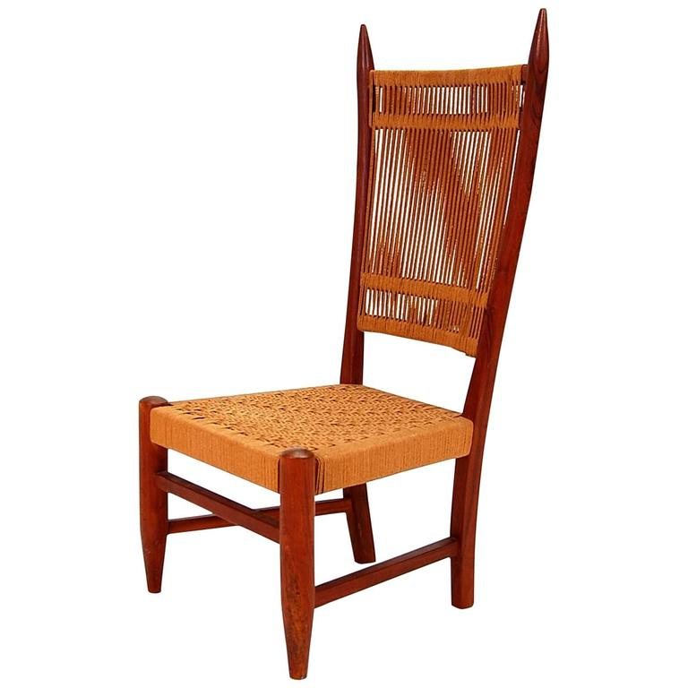 Diminutive Scandinavian Chair in Teak