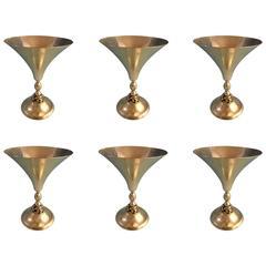 La Paglia by International Sterling Silver 6PC Martini Set & Chest, Hollowware