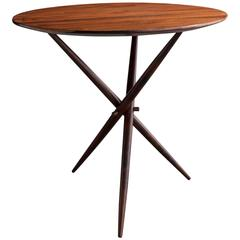 Janete Side Table by Sergio Rodrigues, Brazil, 1956