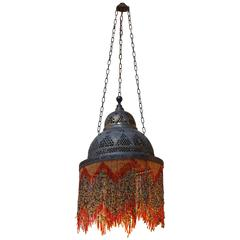 Moroccan Beaded Hall Light