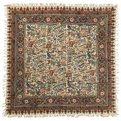 Persian Paisley Kalamkari Textile