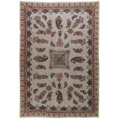 Hand Blocked Paisley Textile from India