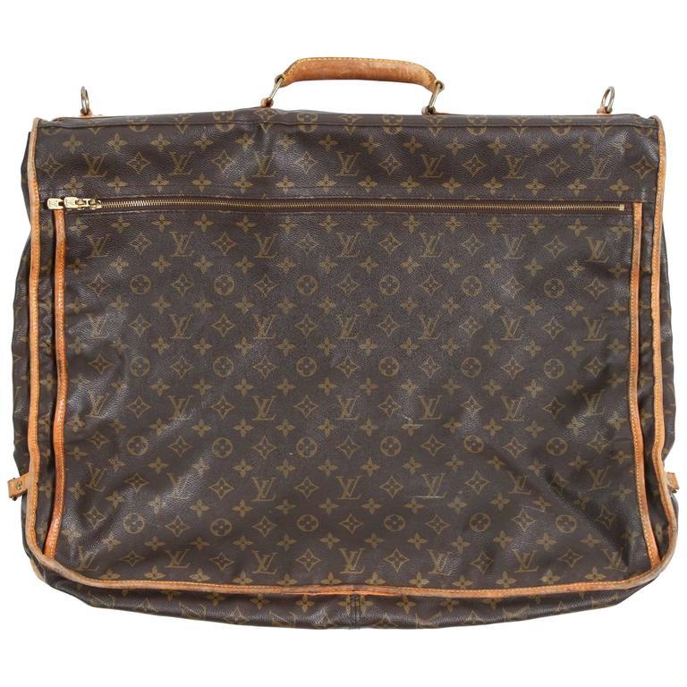 9e78fec330b4 Vintage Louis Vuitton Garment Carrier For Sale at 1stdibs