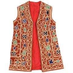 Bright Bohemian Turkish Red Vest
