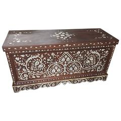 Syrian Mother-of-Pearl Lift Top Chest