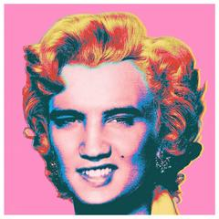 Set of Limited Edition Elvis/Marilyn Prints