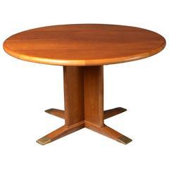 Dining Table, Extendable by Frits Henningsen, 1940s, Danish Modern