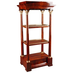 20th Century Biedermeier Style Etagere Shelves