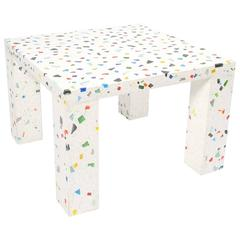 Shiro Kuramata Nara Couch or Side Table Made from Terrazzo