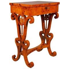 20th Century Vienna Biedermeier Style Salon Table