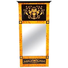 20th Century Biedermeier Style Mirror