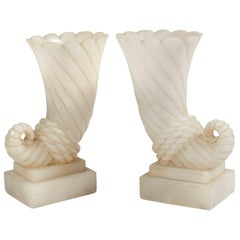 Pair of Enlightening Vases by Serge Roche, circa 1925