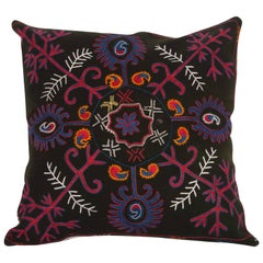 Pillow Made Out of an Early 20th Century Kyrgyz Embroidery