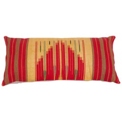 Antique Pillow from Middle Eastern Textile