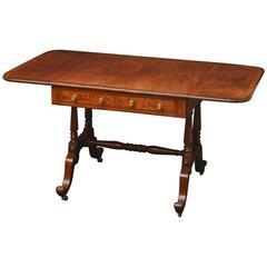 Fine Regency Sofa Table in Mahogany
