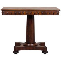 Antique English William IV Mahogany Table, circa 1835