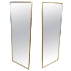 Pair of Tall Mid-Century Modern Mirrors