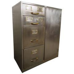 industrial metal file cabinet