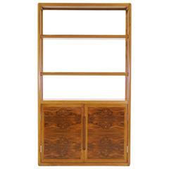 Edward Wormley for Dunbar Rosewood Bookcase Storage Cabinet