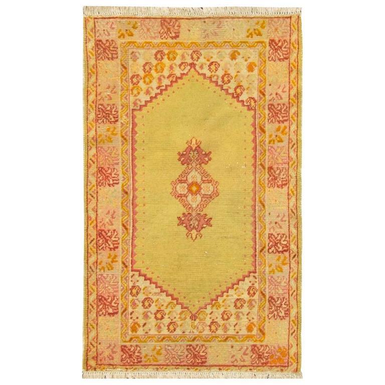 Gorgeous Antique Oushak Rug