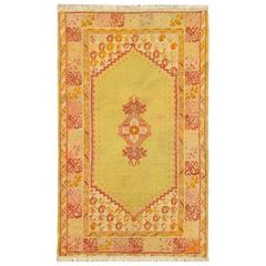 Gorgeous Antique Oushak Rug