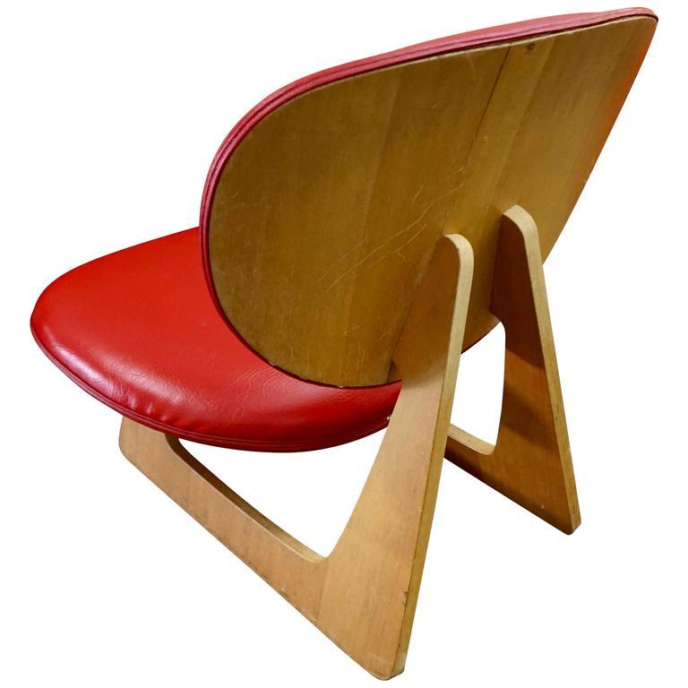 "Japanese ""Teiza"" Chair by Daisaku Choh 1"