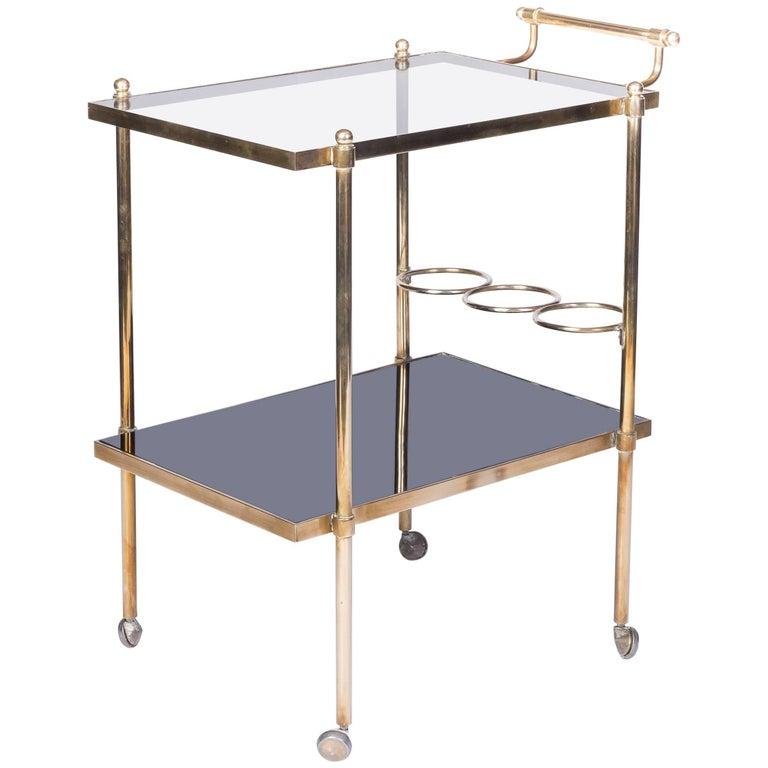Stunning French Mid-Century Modernist Bar Cart