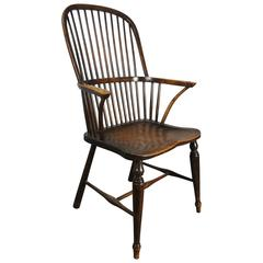 19th Century Stickback Hoop Windsor Chair