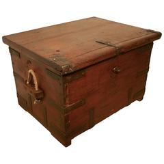 18th Century Naval Officers Sea Chest